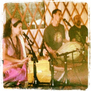 Vegetarian Potluck and Kirtan at the Yurt, Sterling, VA
