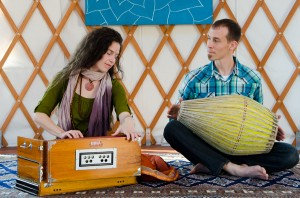 Monthly Vegetarian Potluck and Kirtan at the Yurt